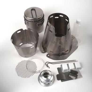 Trail Designs Fusion Ti-Tri Cooker