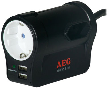 AEG Protect Tavel Surge protector