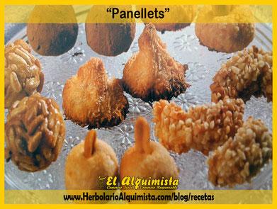 Panellets caseros Blog Alquimista Arrecife Lanzarote