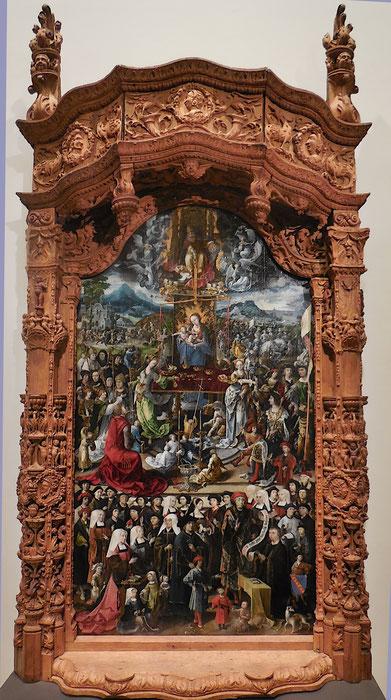 Maître d'Amiens, Au juste poids véritable balance, Huile sur bois, 1519, Musée de Picardie, photo JH