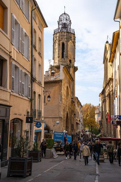 Bild: Église du Saint-Esprit aus dem 18. Jh.in der Rue Espariat, Aix-en-Provence