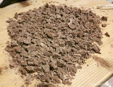 Cioccolato  guinness tagliato grossolanamente