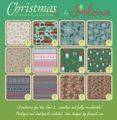 Christmas  Pattern Collection Vol. 3