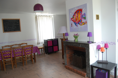 L'école Buissonnière gîtes pour famille et groupes à Cheverny - tourisme châteaux, balades à dos d'âne, vacances en famille, amis - Val de Loire, Loir-et-Cher - Gîte des Poètes
