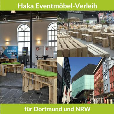 Eventmöbel mieten / Palettenmöbel Verleih & Vermietung in Dortmund (Nordrhein-Westfalen) und Umgebung