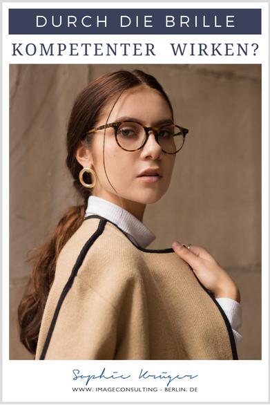 Manche können mit einer filigranen Brille eine extrem starke Ausstrahlung gewinnen