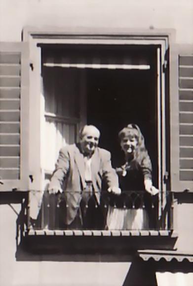 Bettina und Erwin Bowien in Bern, 1962