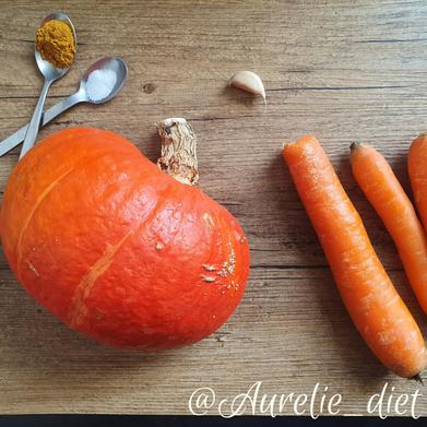 velouté potimarron diététique mulhouse recette nutrition