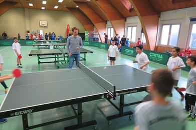 Kinder beim Finalturnier in Ehmen beim gastgebenden TSV