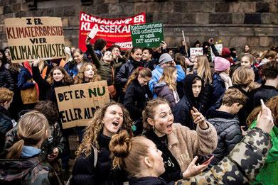 'Fridays for futur' - demo  i København