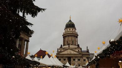 Schöne Kulisse und tolle Atmosphäre am Gendarmenmarkt.