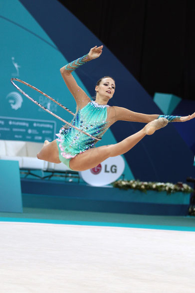 Nicol Ruprecht bei den Europameisterschaften in Baku 2014 Bild: Barny Thierolf