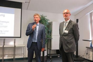 Heinrich Hörnschemeyer (links) und Dr. Frank Frühling