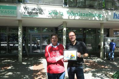 Kevin Nobs (rechts) und Manfred Wille