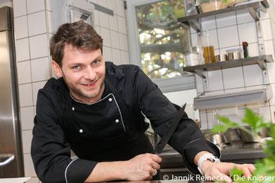 Der neue Koch: Marvin Driess.