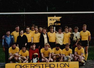 Meisterschaft 1988 mit Fanclub