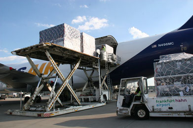 The number of cargo carriers serving Hahn has declined significantly lately  -  picture: HHN