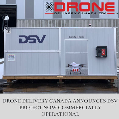 DDC and DSV drone project commercially operational - Image courtesy of DDC