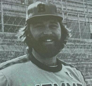 """Nella foto James Black  (La foto è tratta dal libro """"Fortitudo baseball - Cinquant'anni in diamante"""")"""