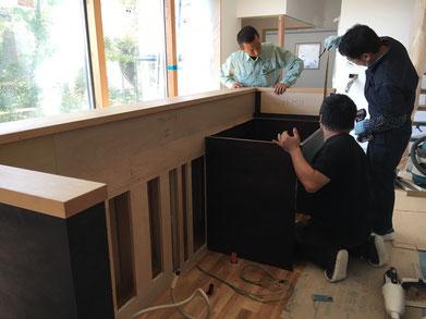 オーダーキッチン オーダー家具