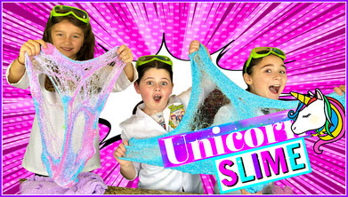 slime, science, unicorn slime, recipe