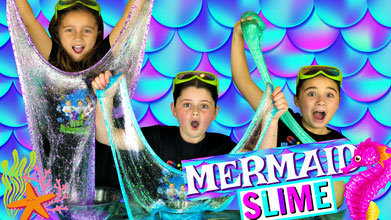 slime, science, mermaid slime, recipe