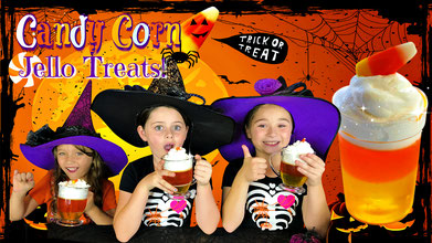 halloween treats, recipe, recipes, candy corn jello, halloween diy recipe