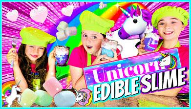slime, science, edible slime, recipe, unicorn slime, edible unicorn slime recipe