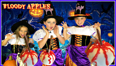 halloween treats, recipe, recipes, halloween apples, halloween kids recipe