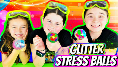 how to make a stress ball, fun activies for kids, wild adventure girls