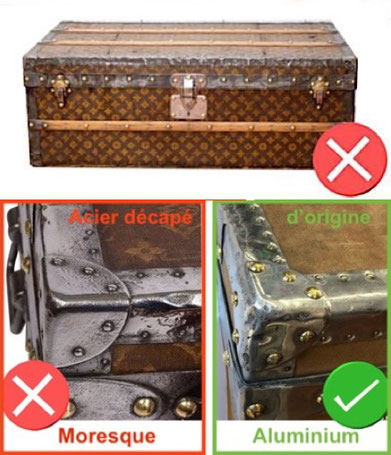 Moresque luxury trunk with medieval finish louis vuitton