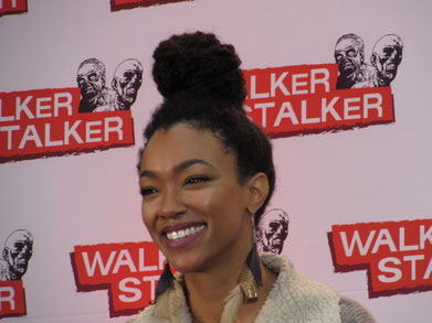 Sonequa Martin Green Sasha Williams The Walking Dead Walker Stalker London 2016