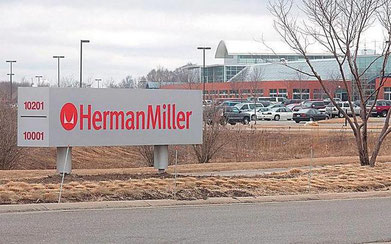The Herman Miller facility at 10001 Adams St. Sentinel File