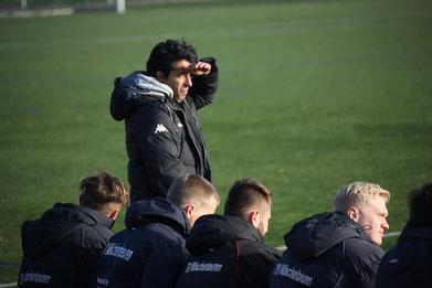 +++ Möchte zurück auf die Siegerstraße: Chefcoach Metin Kartal +++