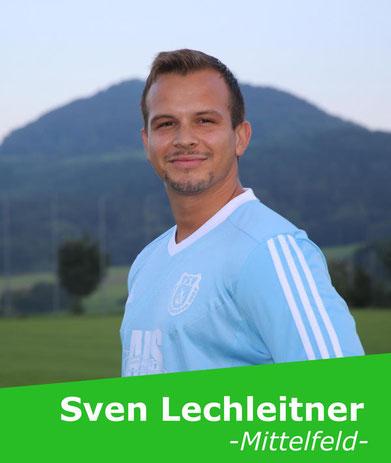 +++ Wird nach seiner Verletzung von seinem Coach nach und nach wieder an den Spielbetrieb herangeführt: Sven Lechleitner +++