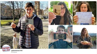 Das Instagram-Museum »Silent Stories of 1945« haben 23 junge Menschen aus 17 Ländern erstellt