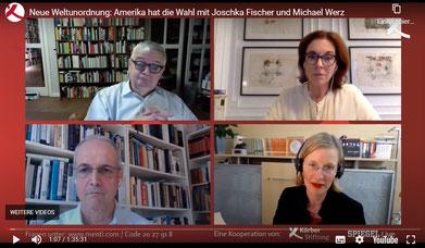 »Neue Weltunordnung: Amerika hat die Wahl« im Livestream