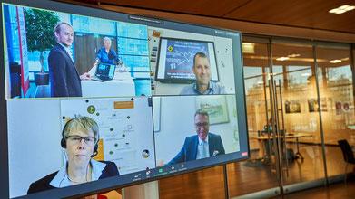 Kommunale Entscheider:innen im digitalen Gespräch über Corona und Innovation
