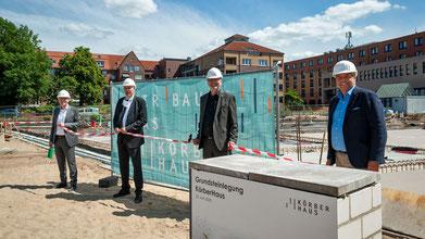 Das KörberHaus ist ein Gemeinschaftsprojekt der Körber-Stiftung und des Bezirksamtes Bergedorf (Foto: Nicole Keller)