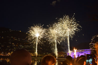 Lichterfest in Bergen