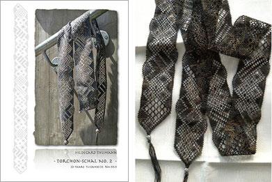 Geklöppelter Torchon-Schal Nr. 2