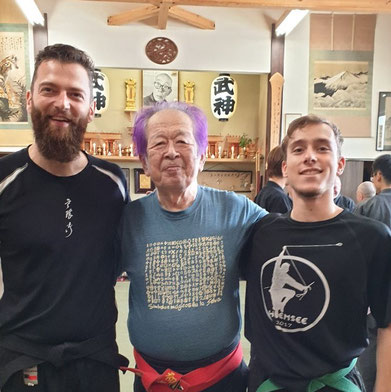 Bujinkan Budo Taijutsu, Wakagi, Kampfkunst, Lauf an der Pegnitz, masaaki hatsumi, Soke, Edmund Wasinger, Moritz Lux