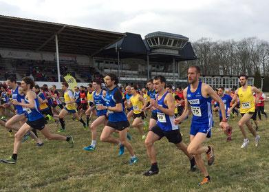 Start zum Mittelstreckenrennen (Foto: Timo Heilmann-Klaeren)