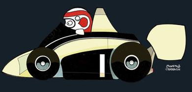 Nelson Piquet by Muneta & Cerracín