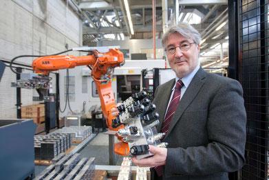 Aurelio Lemos, Geschäftsführer von Bucher Hydraulics in Frutigen.