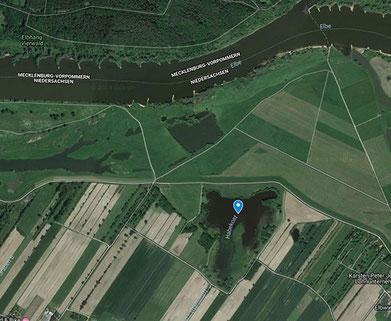 Rastplatz Habekost, zum öffnen in Google Maps bitte anklicken.            Quelle: Google Maps