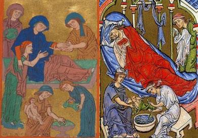 Psalterium Feriatum und Goslarer Evangeliar