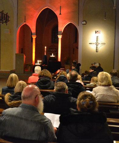 Gedenkfeier in der Kirche