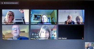 Videokonferenz des Gemeinderates