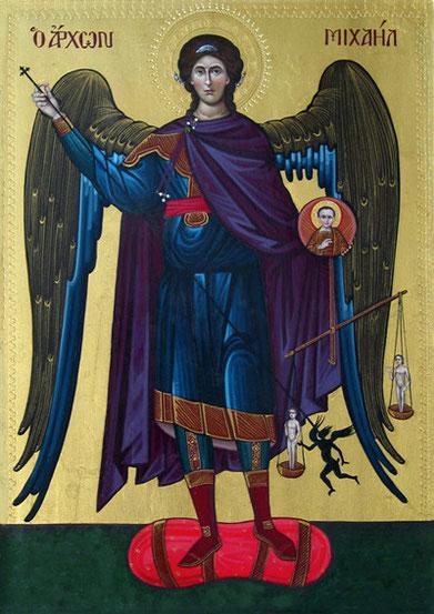Icône de Saint Michel du Var - Iconographe Tauk -